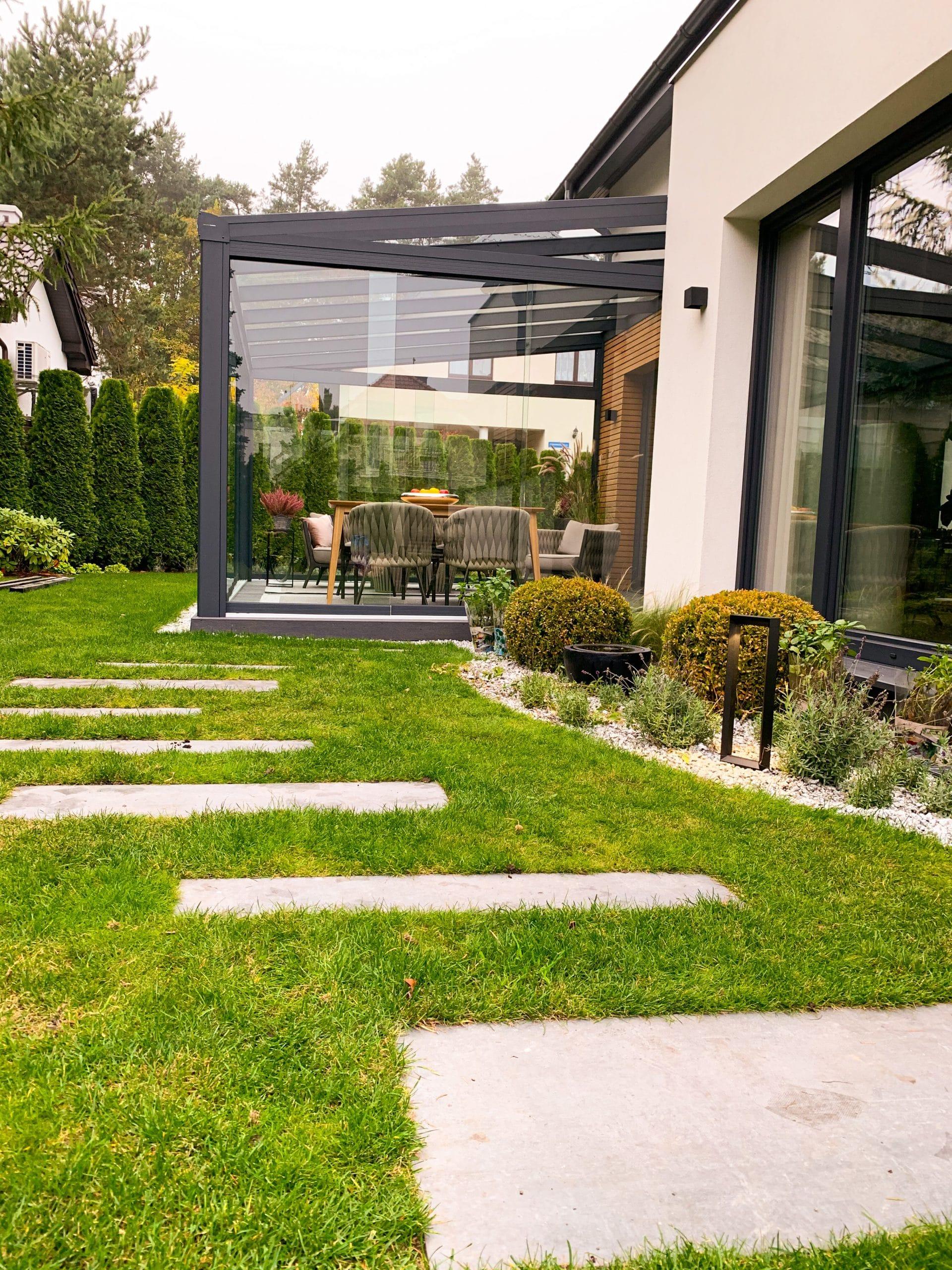 Ogród glamour
